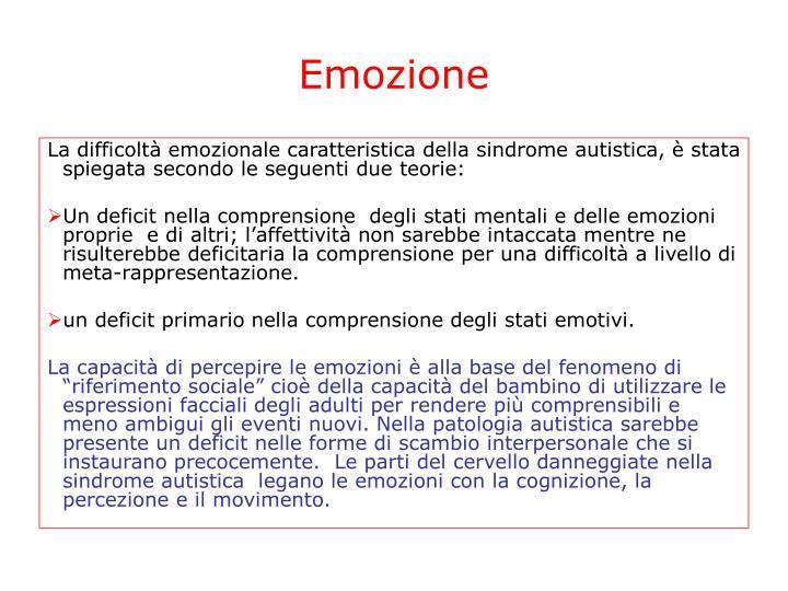 Emozione