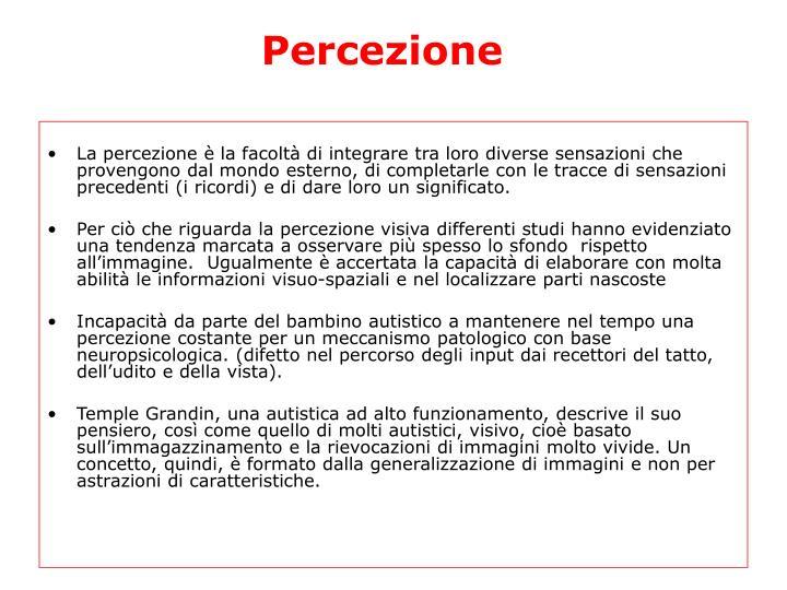 Percezione