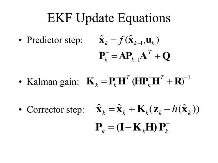 EKF Update Equations