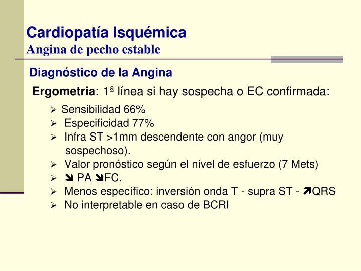 Diagnóstico de la Angina