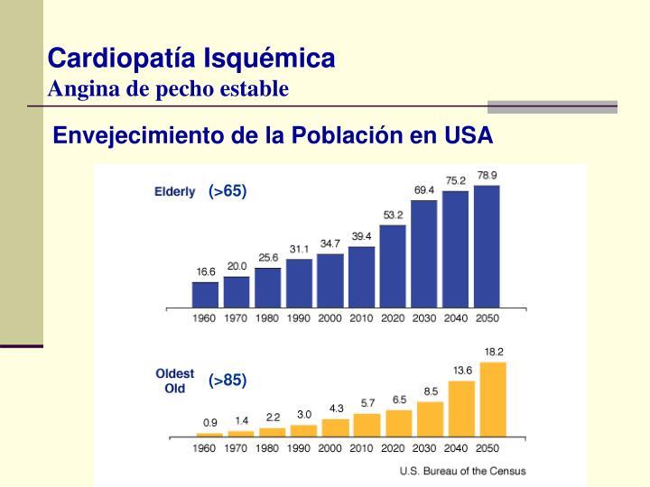 Envejecimiento de la Población en USA