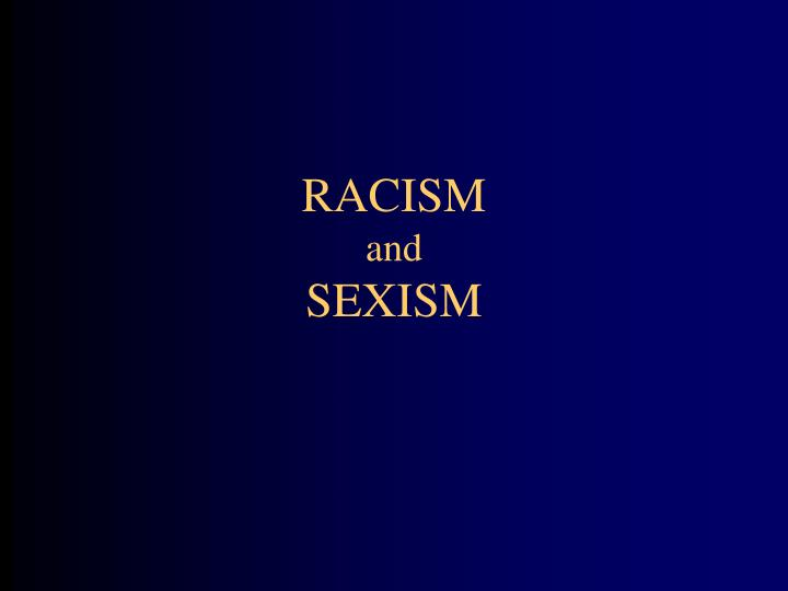 an introduction to the issue of racism in america