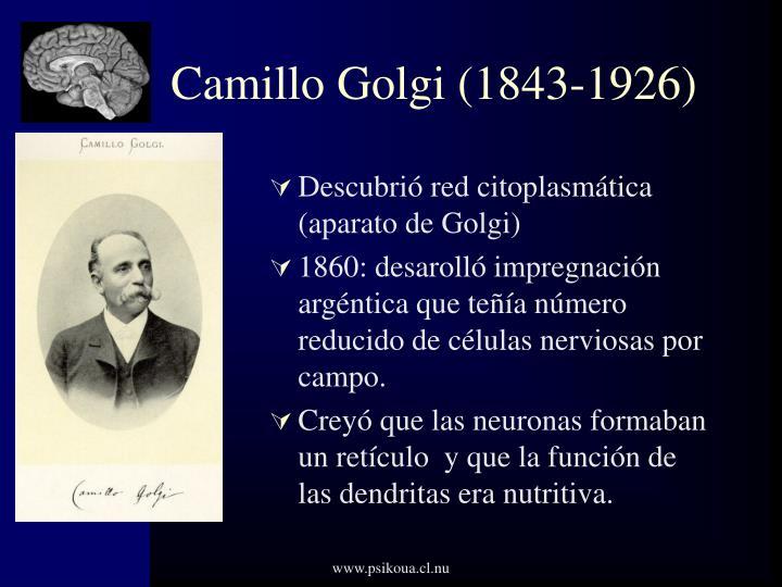 Camillo Golgi (1843-1926)