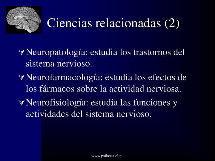 Ciencias relacionadas (2)
