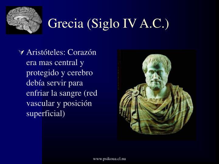 Grecia (Siglo IV A.C.)