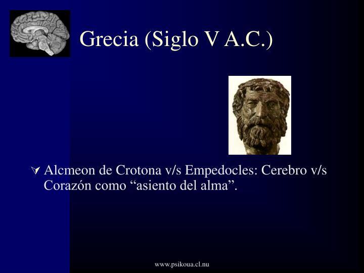 Grecia (Siglo V A.C.)