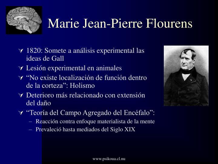 Marie Jean-Pierre Flourens