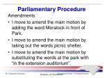 parliamentary procedure6