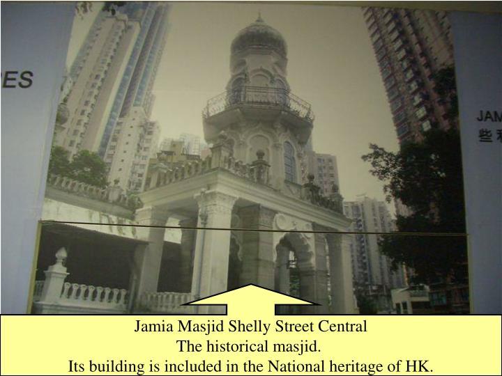 Jamia Masjid Shelly Street Central
