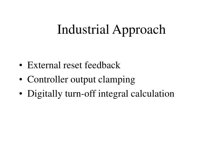 Industrial Approach