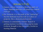 january s folly