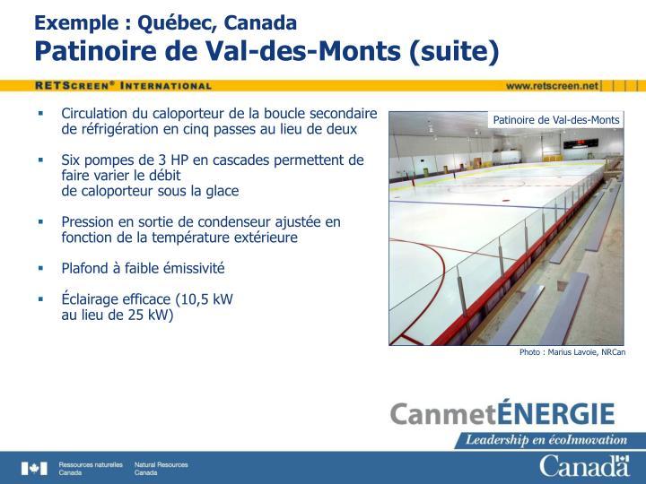 Patinoire de Val-des-Monts