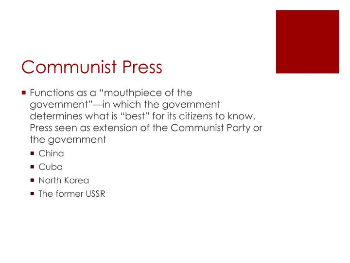 Communist Press