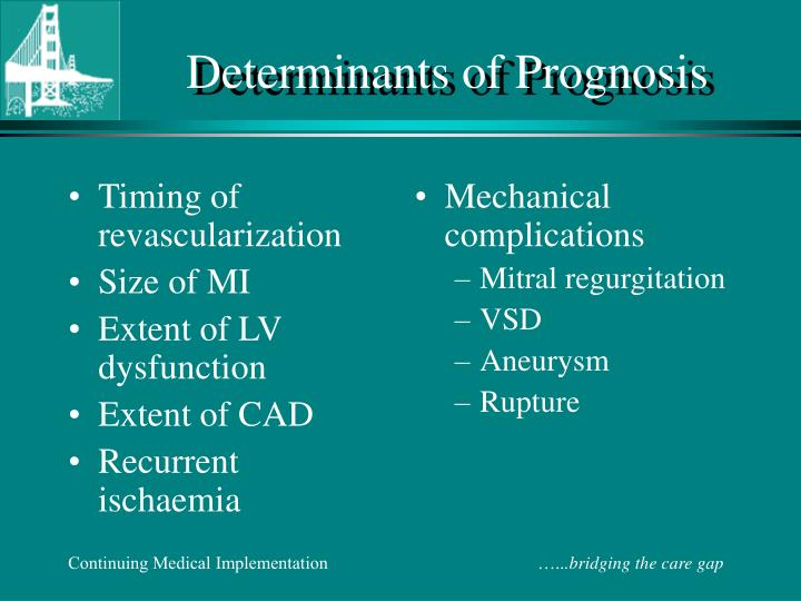 Timing of revascularization