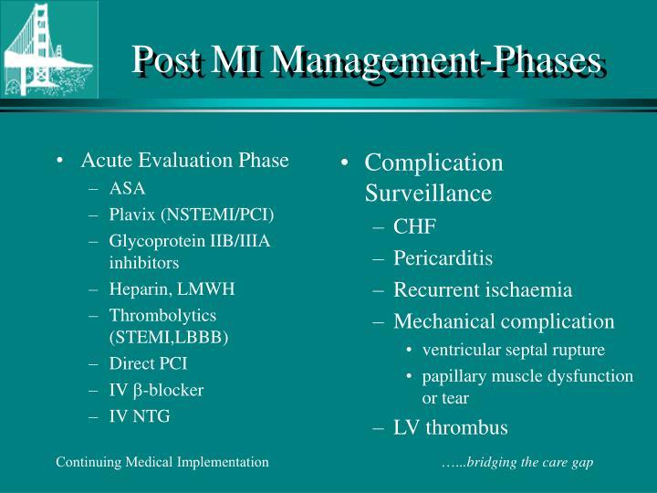 Acute Evaluation Phase