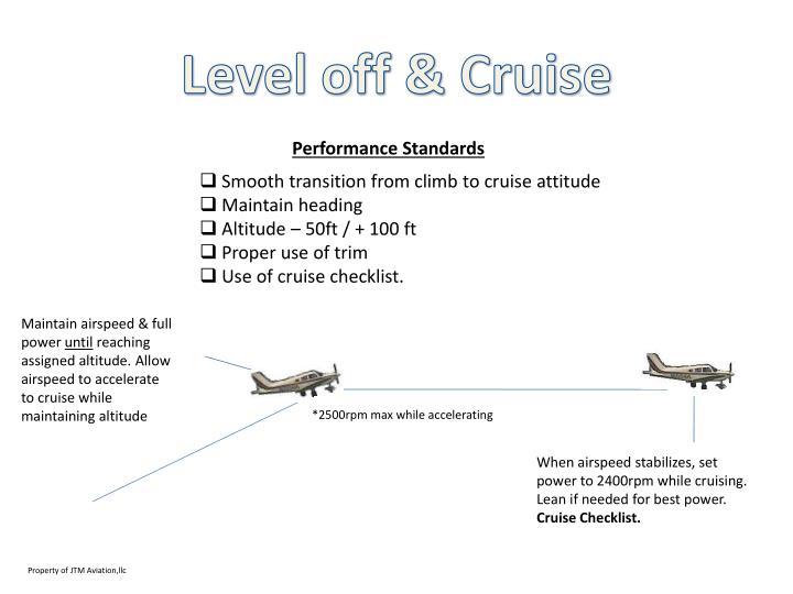 Level off & Cruise