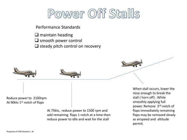 Power Off Stalls