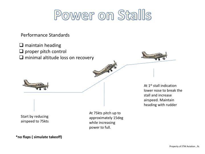 Power on Stalls