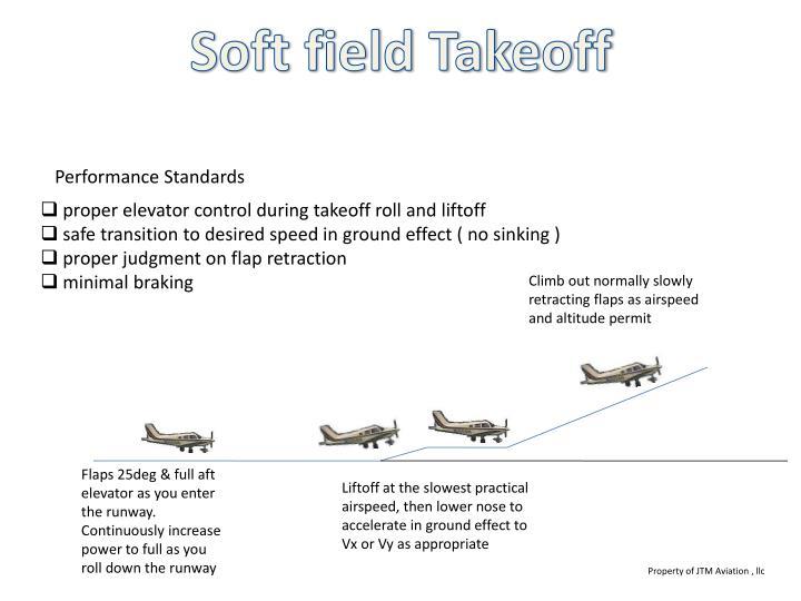 Soft field Takeoff
