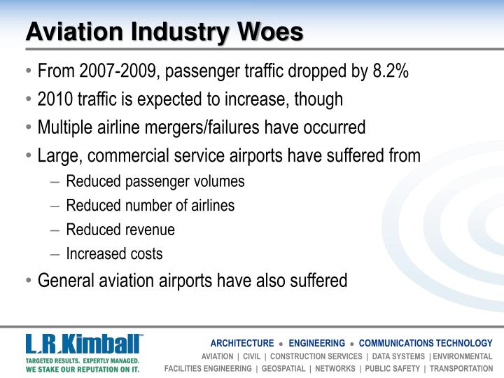 Aviation industry woes
