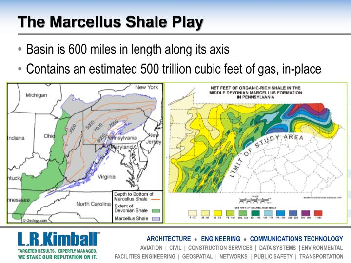 The Marcellus Shale Play