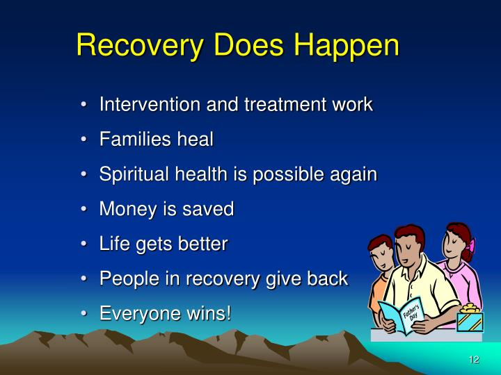 Recovery Does Happen