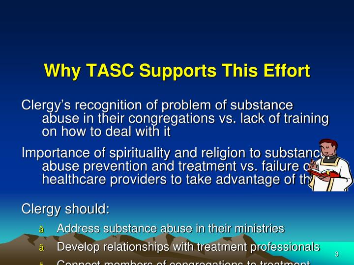 Why TASC Supports This Effort
