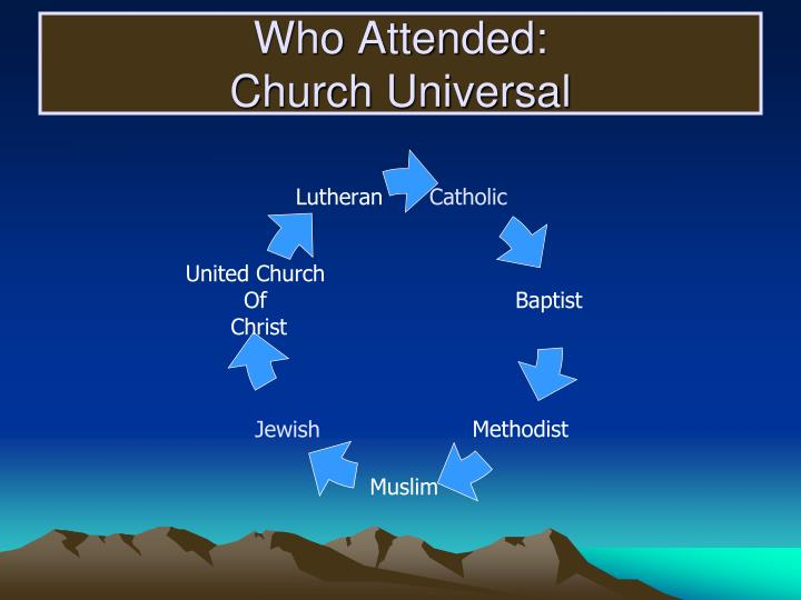 Who Attended:
