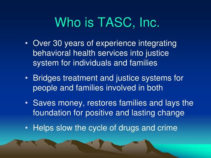 Who is TASC, Inc.
