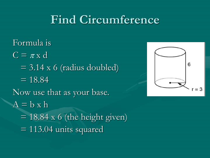 Find Circumference