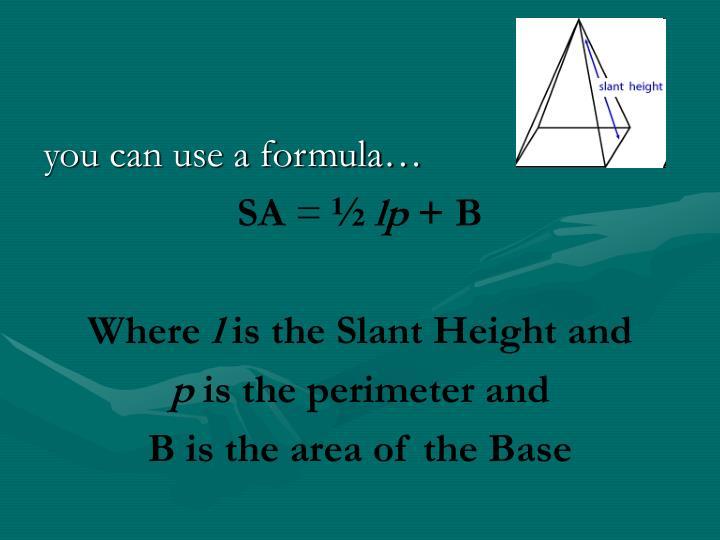 you can use a formula…