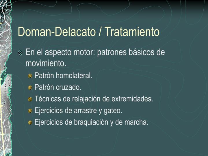 Doman-Delacato / Tratamiento