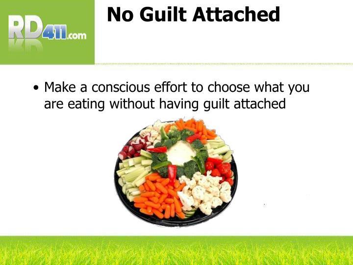 No Guilt Attached