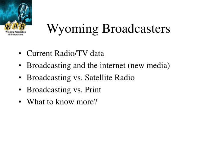 Wyoming Broadcasters