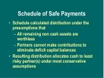 schedule of safe payments1