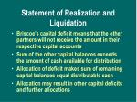 statement of realization and liquidation2