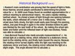 historical background cont1