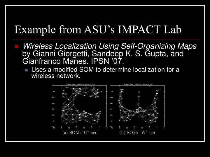Example from ASU's IMPACT Lab