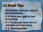 12 excel tips1