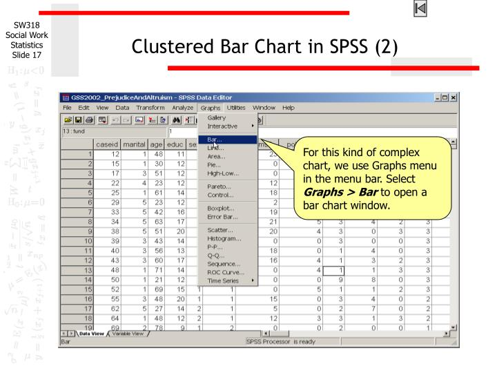Clustered Bar Chart in SPSS (2)