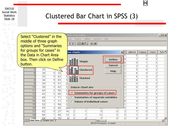Clustered Bar Chart in SPSS (3)