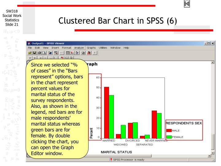 Clustered Bar Chart in SPSS (6)