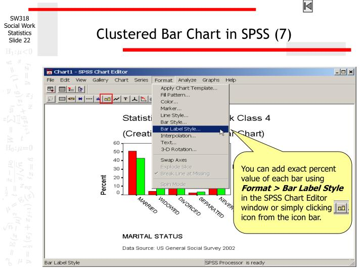 Clustered Bar Chart in SPSS (7)