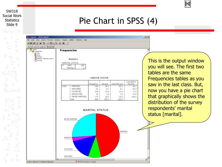 Pie Chart in SPSS (4)