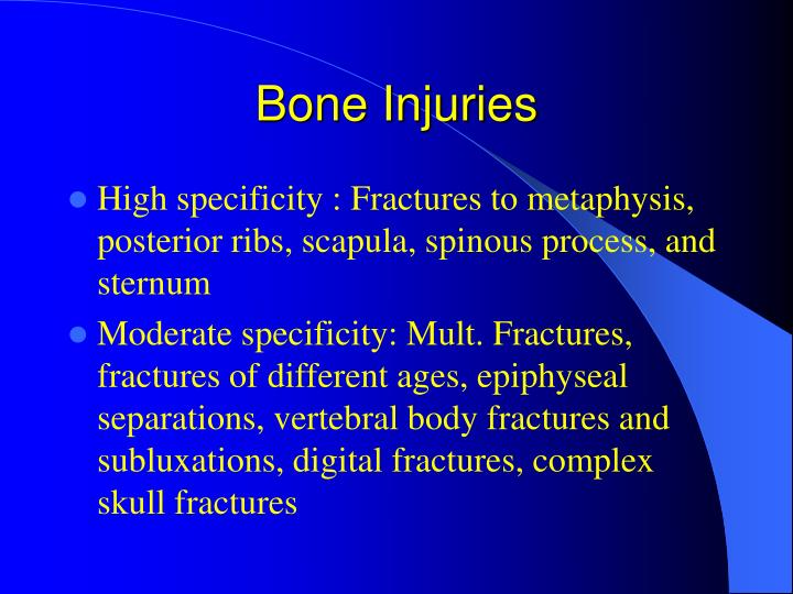 Bone Injuries