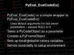pyeval evalcodeex