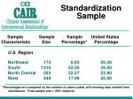 standardization sample1