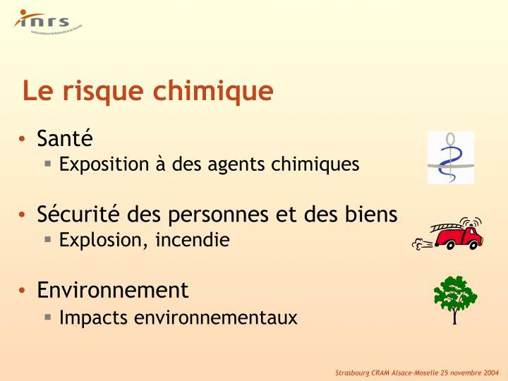 Le risque chimique