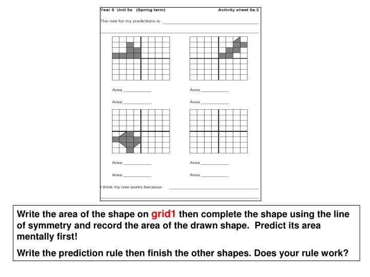Write the area of the shape on
