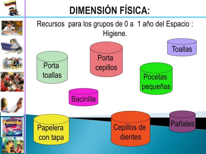 DIMENSIÓN FÍSICA: